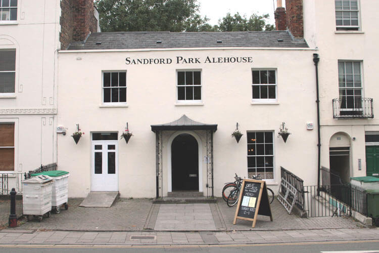An image from the front of Sandford Park Ale House