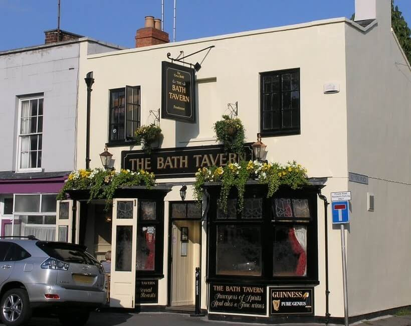 The Bath Tavern is one of the smallest pubs in Cheltenham