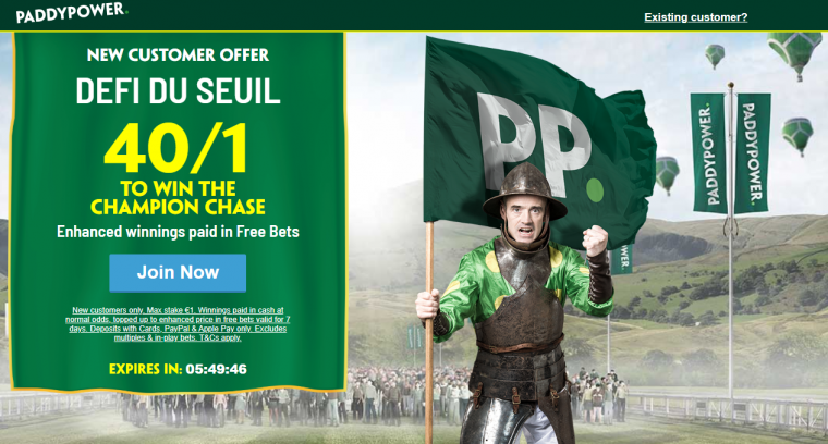 Paddy Power Defi Du Seuil Price Boost