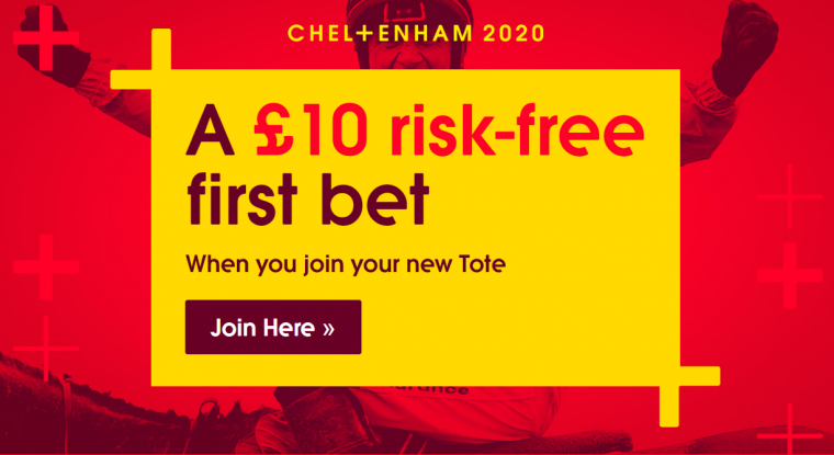 Tote risk free welcome offer