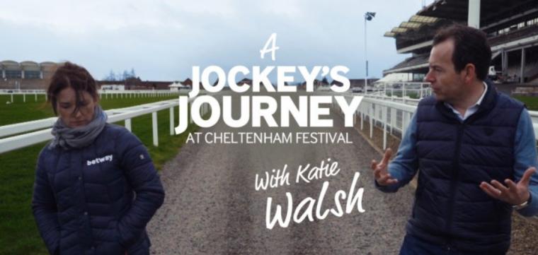 Katie Walsh Betway Cheltenham Festival video